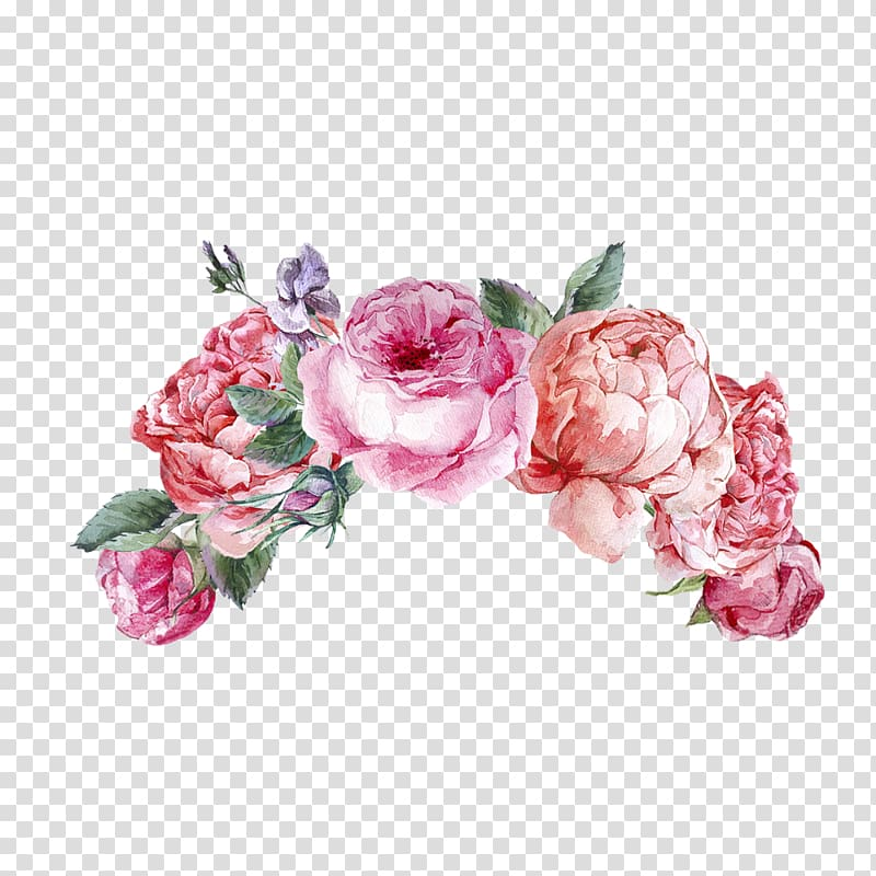 Pink and purple flowers illustration, Flower Sticker Wicked.