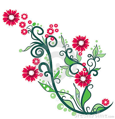 Free clipart summer flowers.