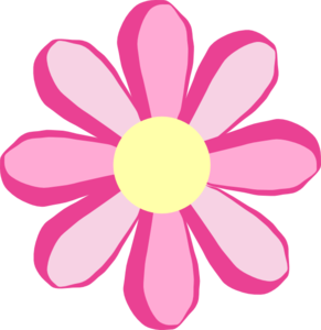 Summer Flowers Clipart.
