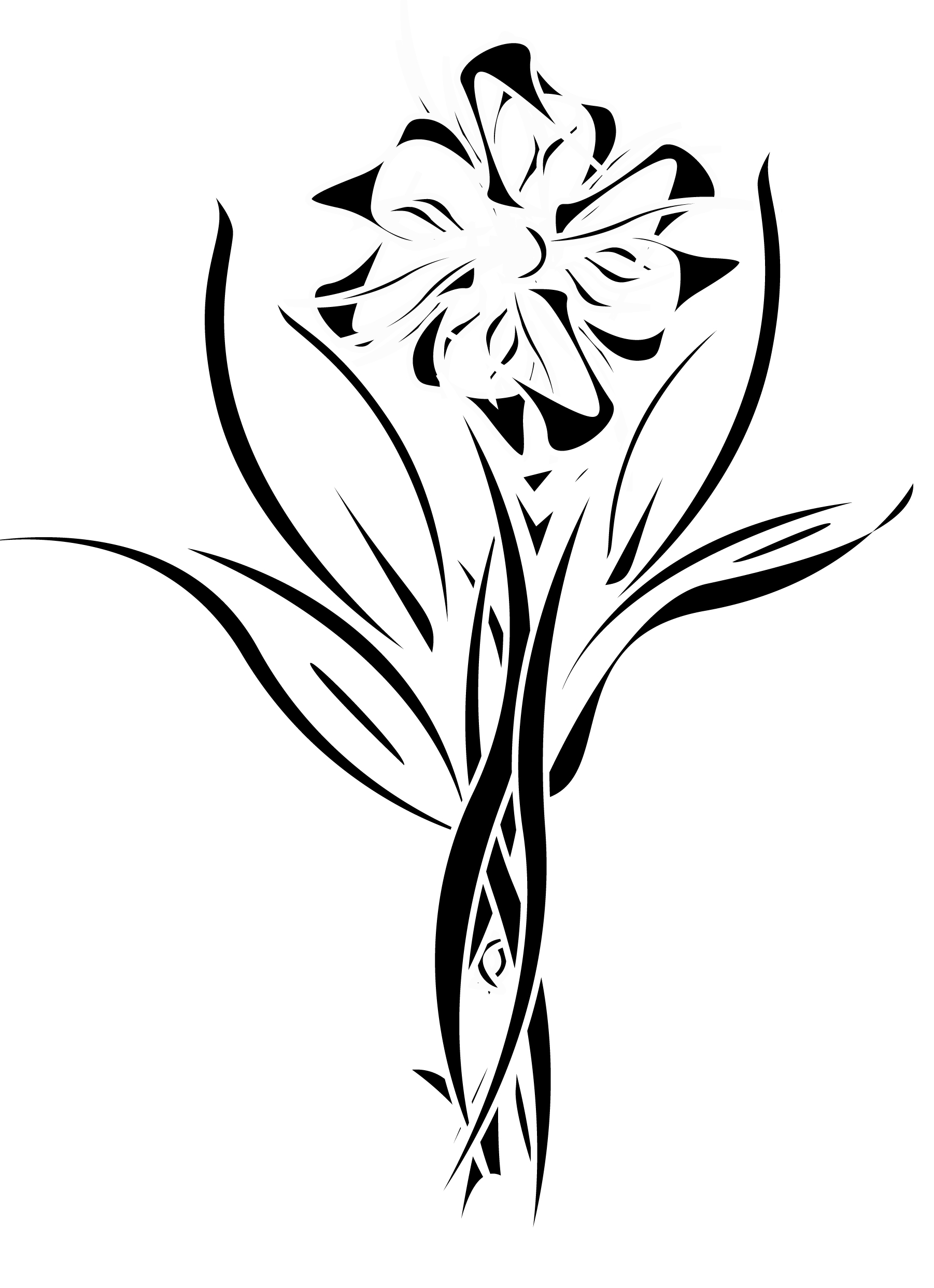 Free Tribal Flowers, Download Free Clip Art, Free Clip Art on.