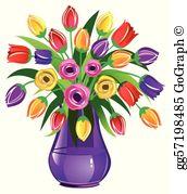 Flower Vase Clip Art.