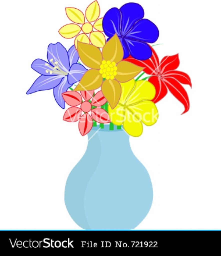 51+ Flower Vase Clipart.