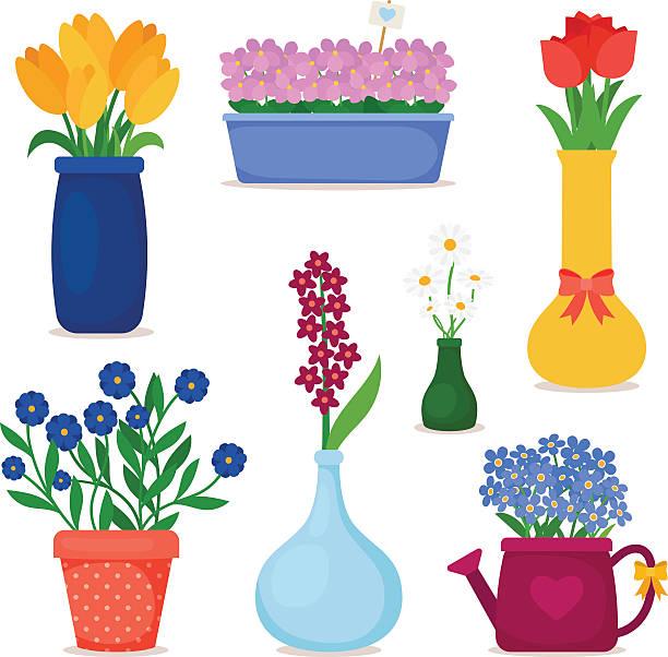 Best Flower Vase Illustrations, Royalty.