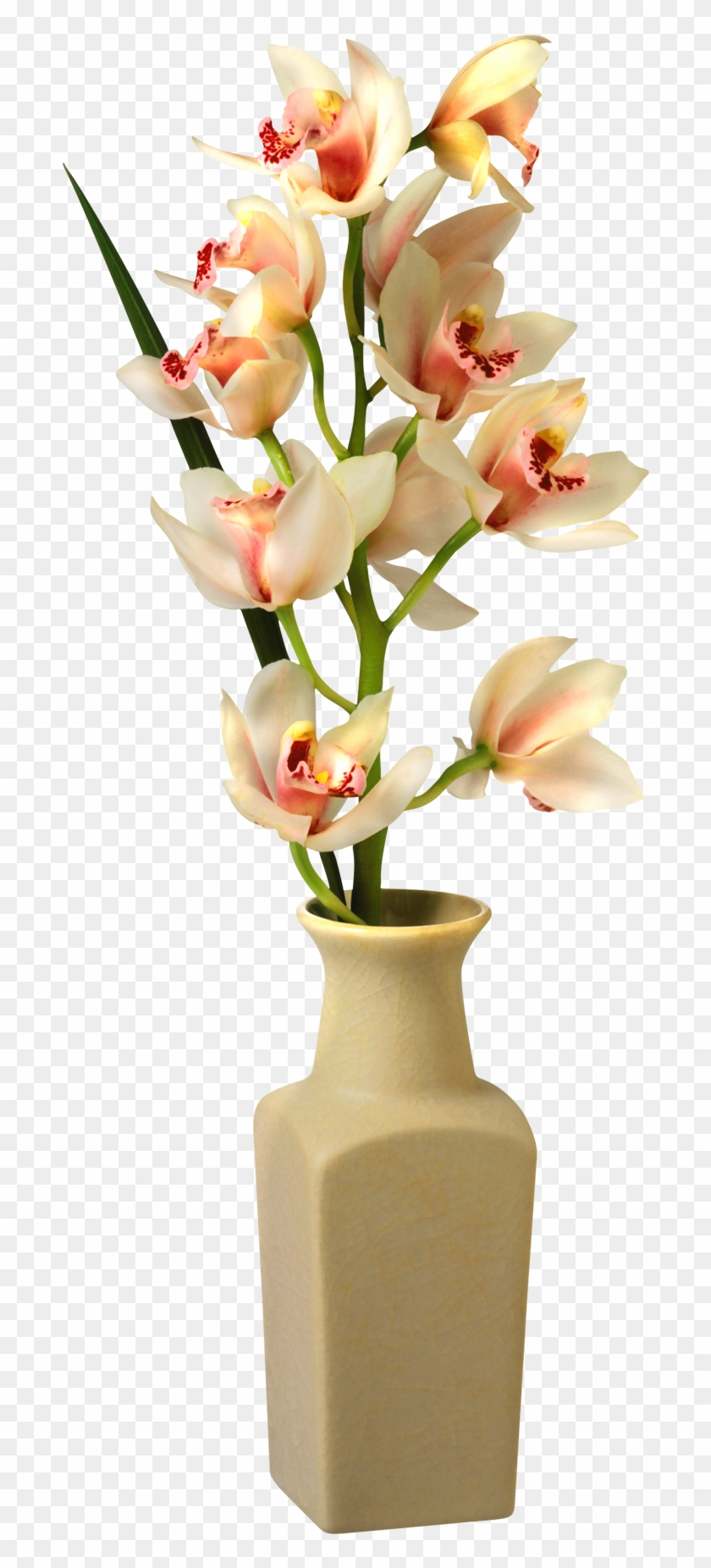 Transparent Flowers In Vase Png, Png Download.