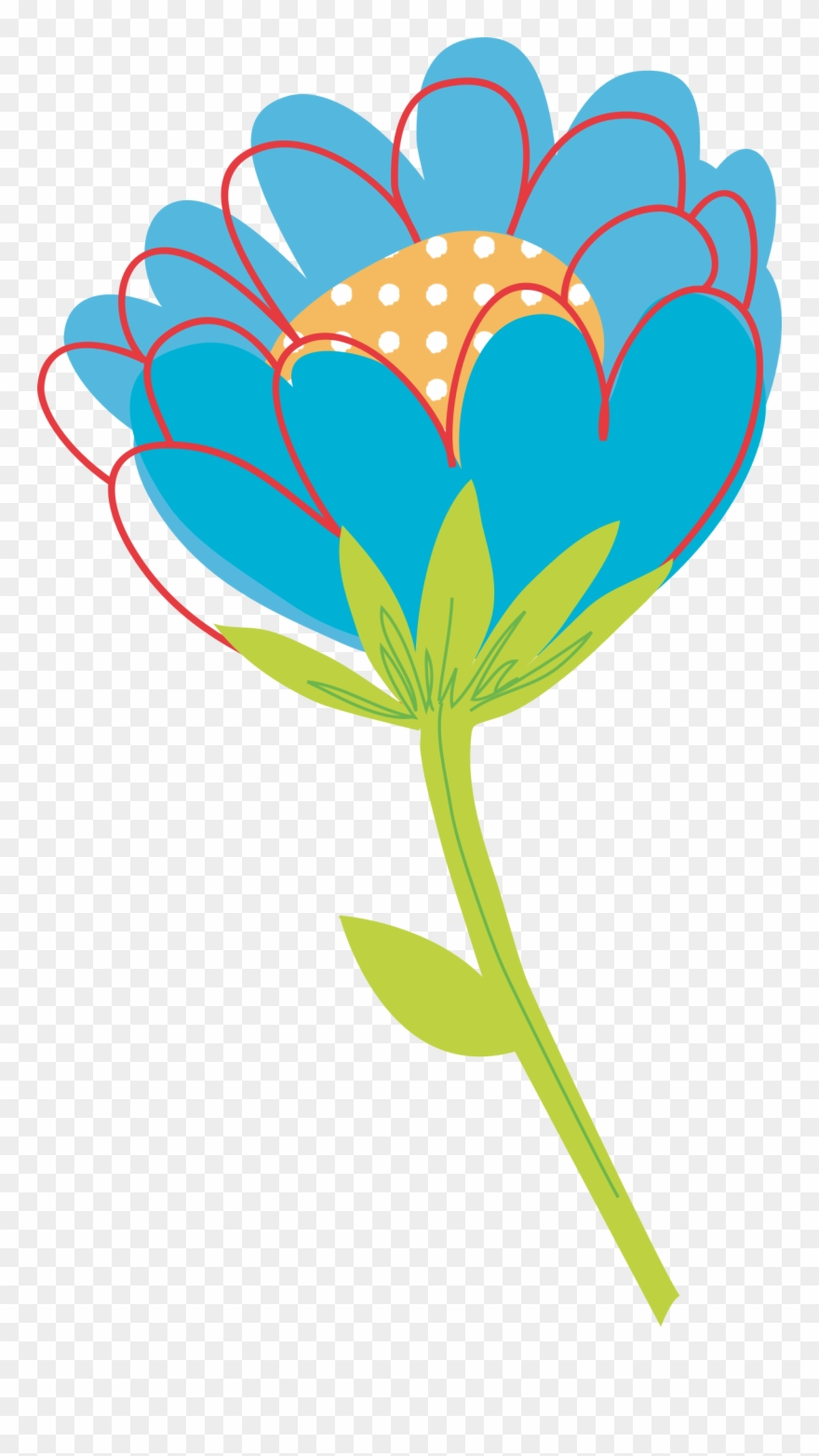 Flowers Vectors Clipart Plant.
