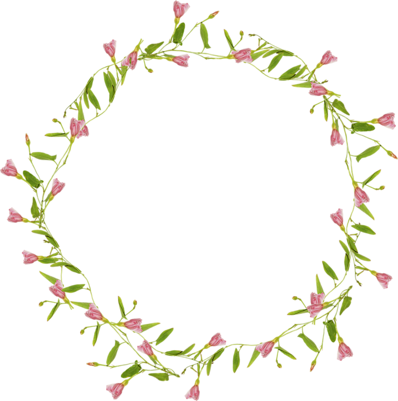 Flower Circle Purple Clip art.