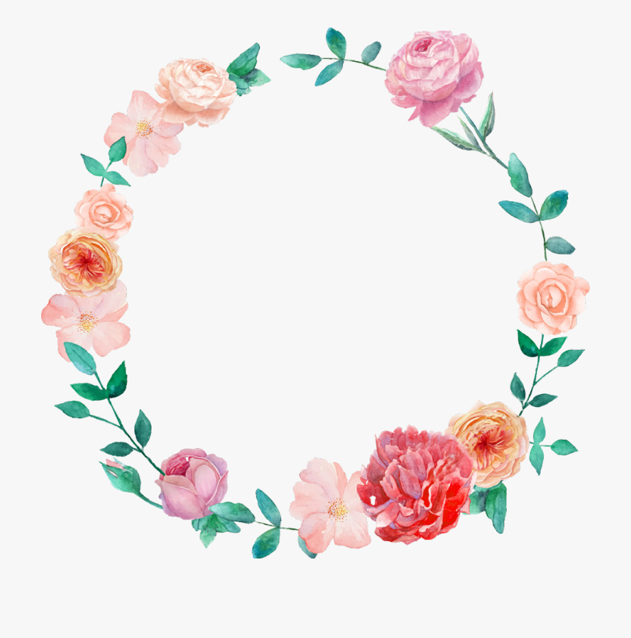 Mexican Clipart Flower Wreath.