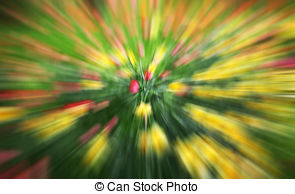 Flower blurred zoom effect abstract Stock Illustrations. 10 Flower.