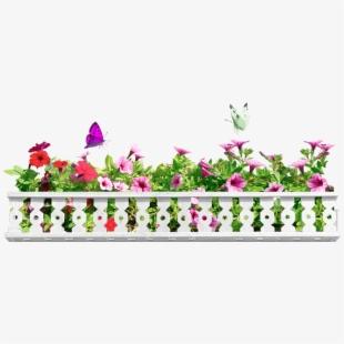 Balcony Flower Box Png , Transparent Cartoon, Free Cliparts.