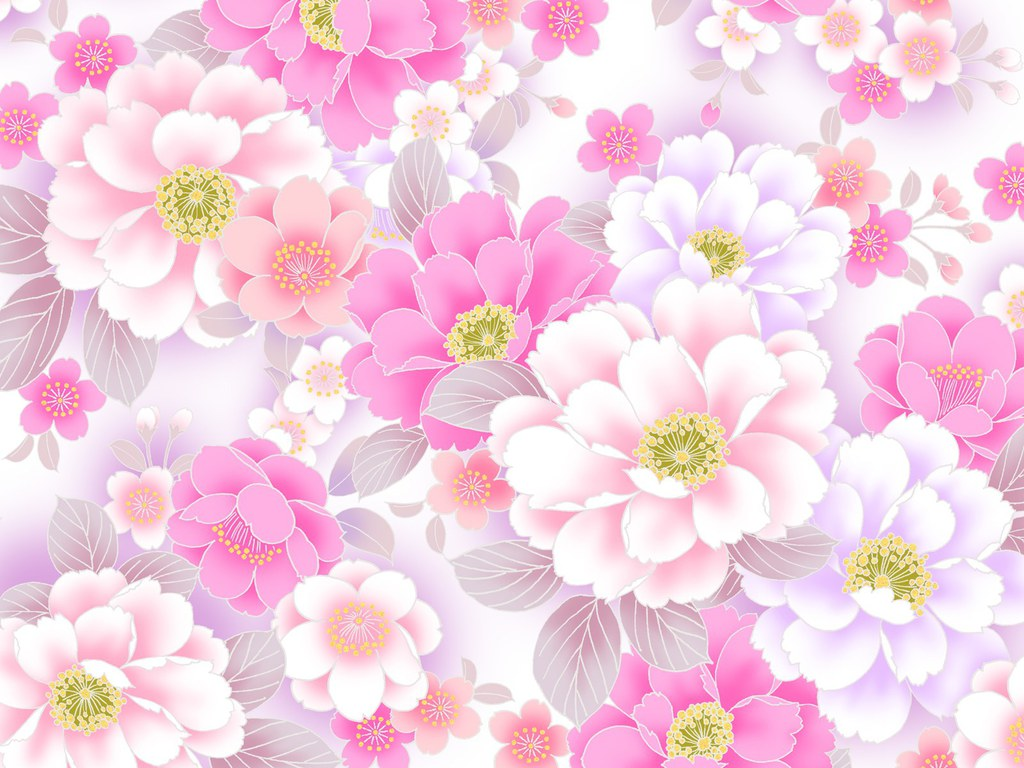 Flowered Background.