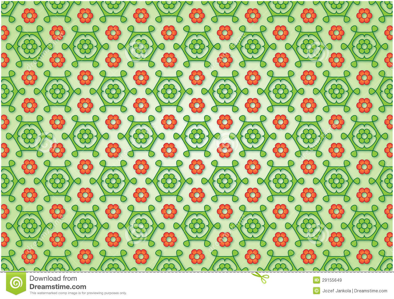 Flowered Background Royalty Free Stock Images.