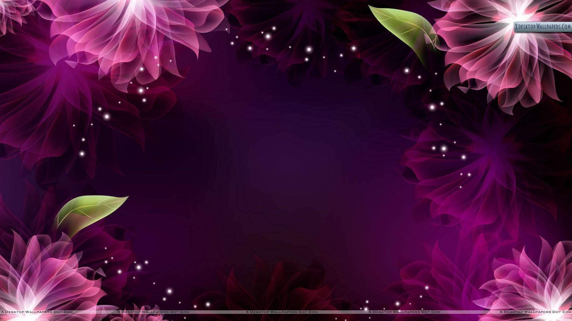Flowered Background.