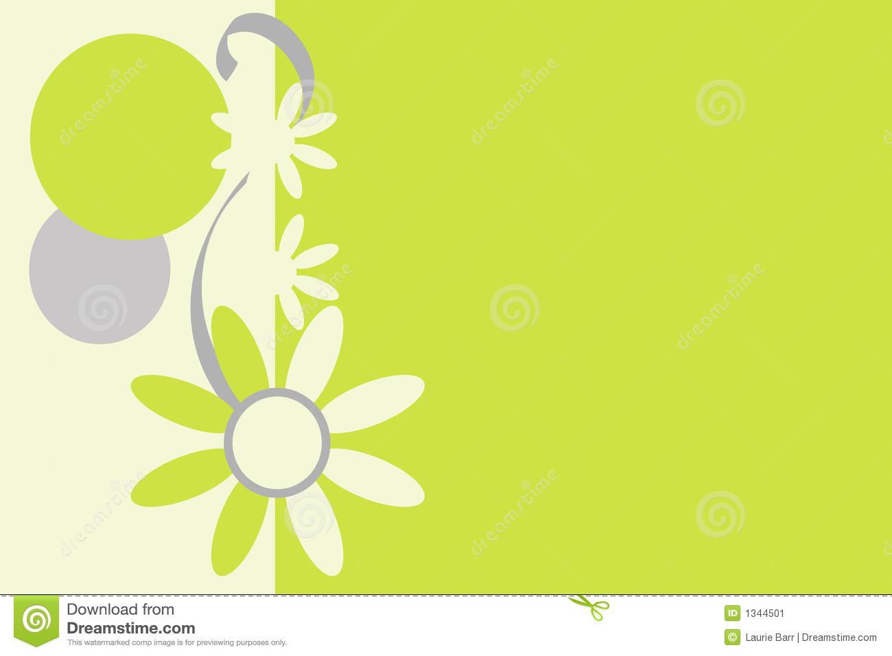 Retro Flowered Background. Stock Image.