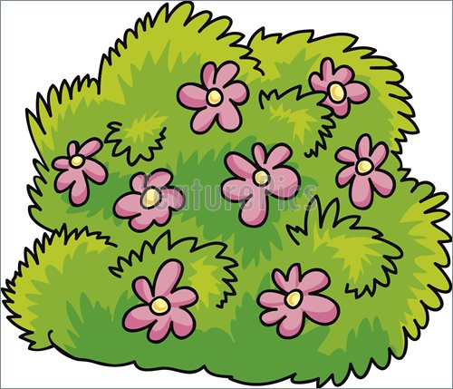 Flower Bush Clipart.