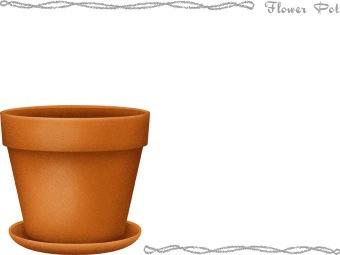 Plant pot clipart.