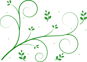 Flower vines clip art.
