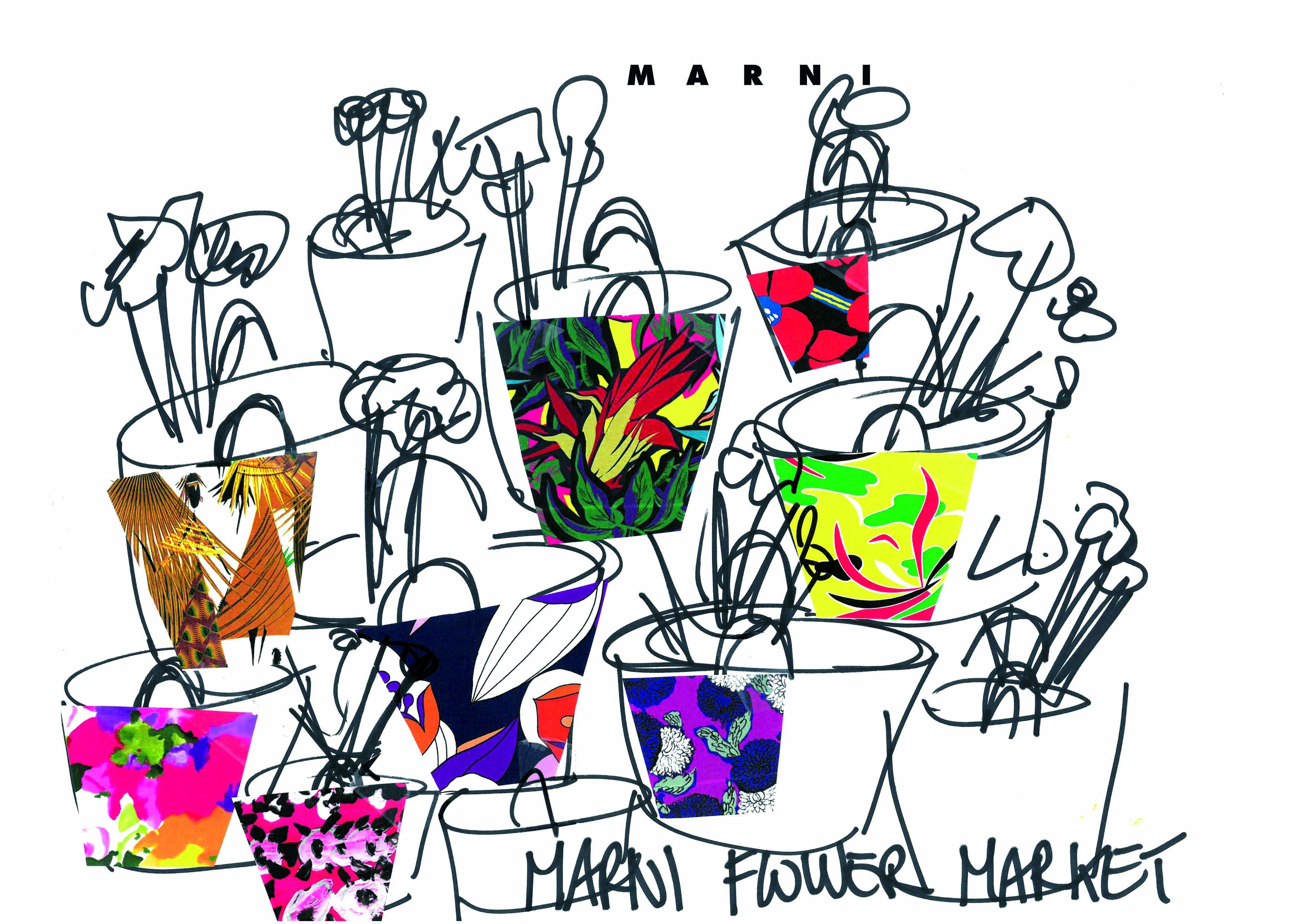 Marni takes floral fashion to new heights with pop.