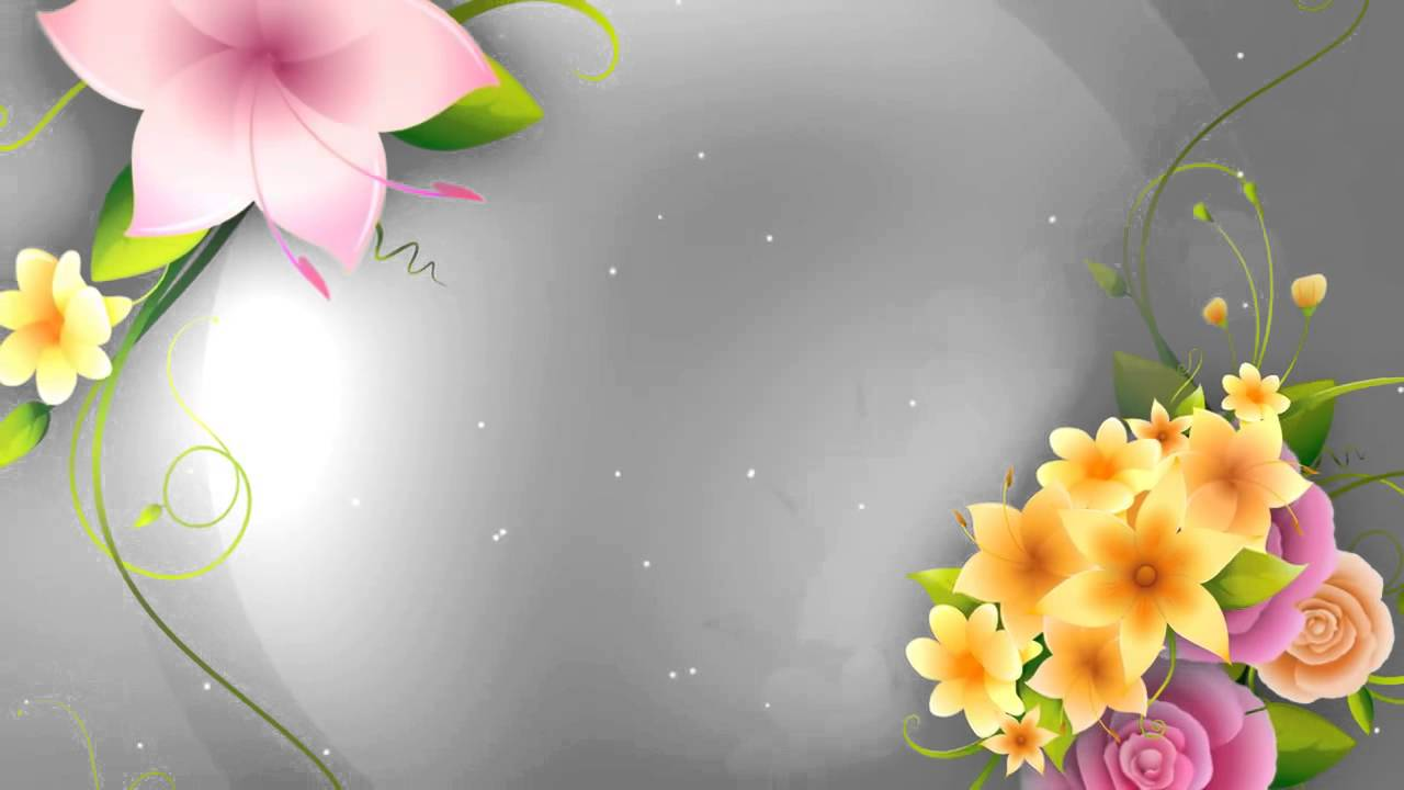 Full HD Flower animation background.