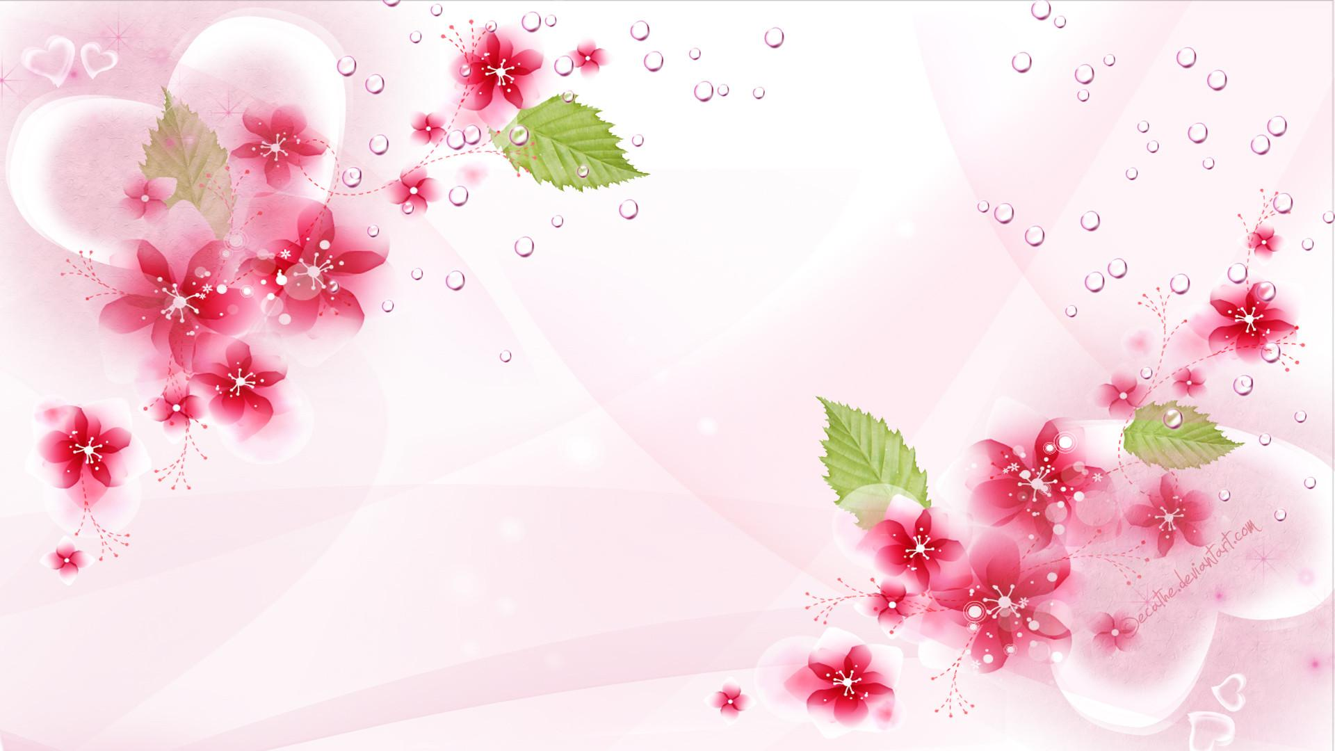Background Wallpaper Flowers.
