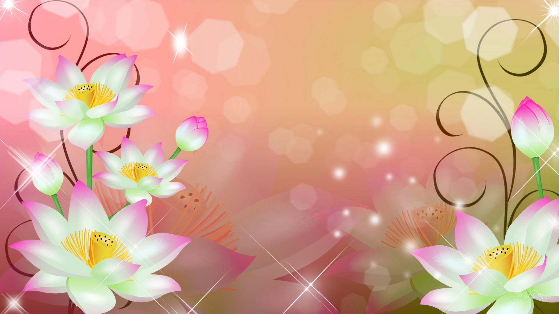 Flowers Background Wallpapers Hd.