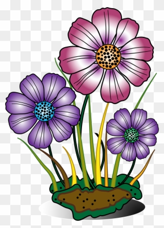 Free PNG Flowers Blooming Clip Art Download.
