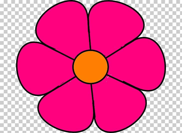 Cartoon Flower Drawing , Flowers Cartoon, pink petaled.