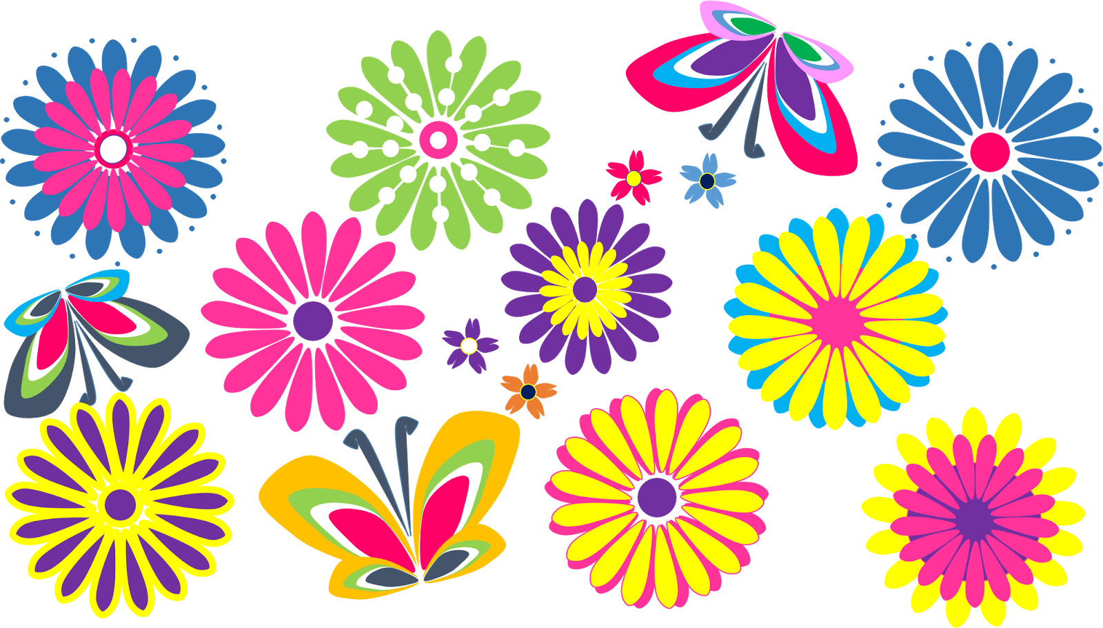 Images of flowers clip art clipart.