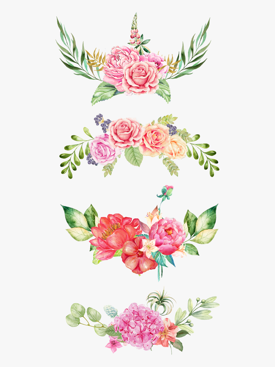 Clipart Download Flowers Border The Bottom.