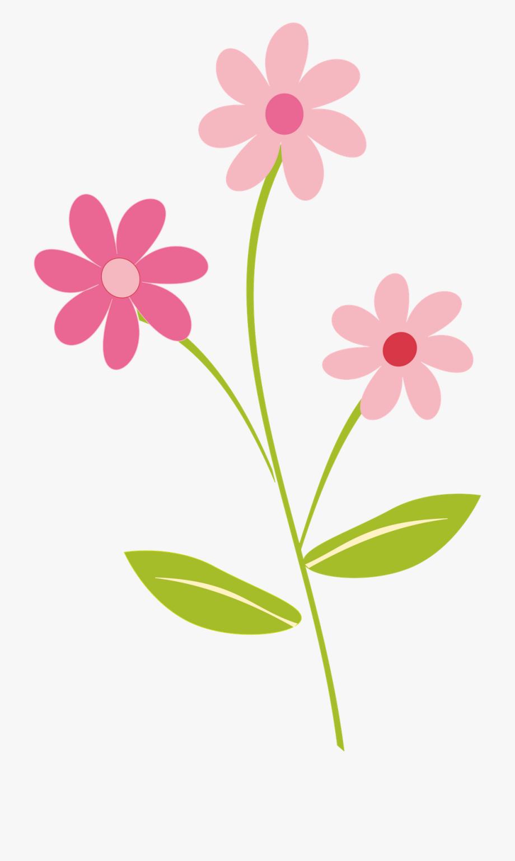 Simple Pretty Flower Clipart Transparent Background.
