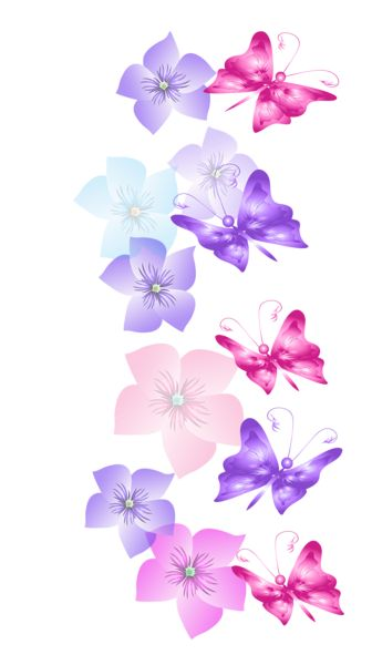 Flowers decor clipart #15