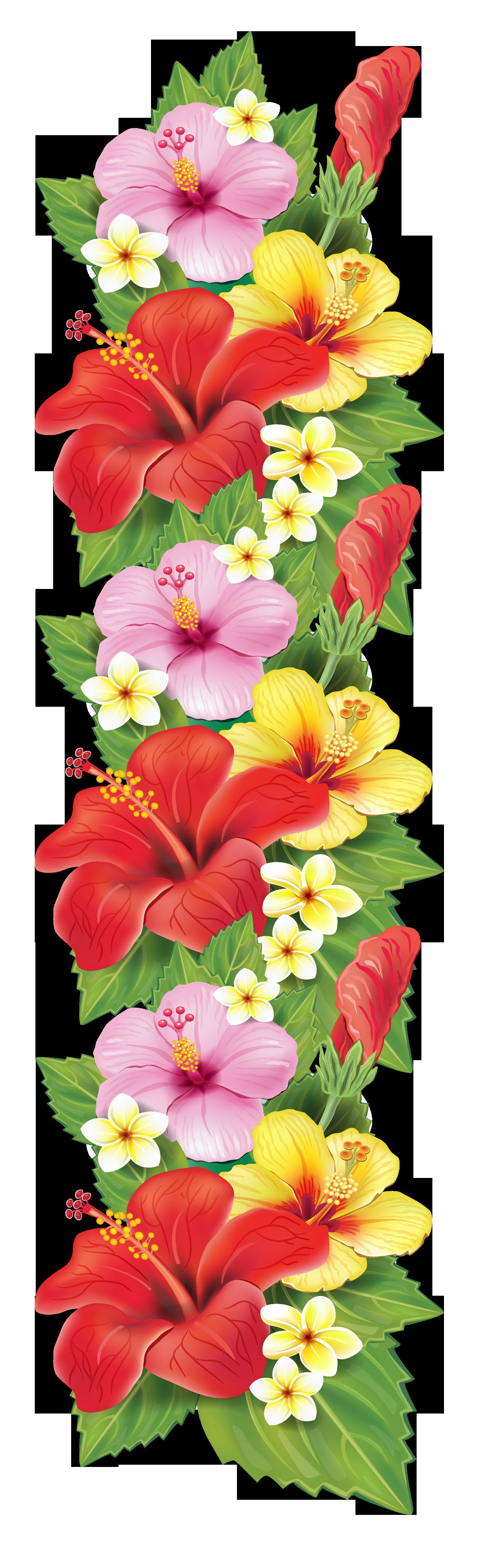 Flowers decor clipart #11