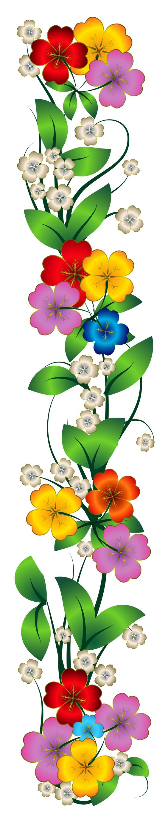 Flowers Decor PNG Clipart.