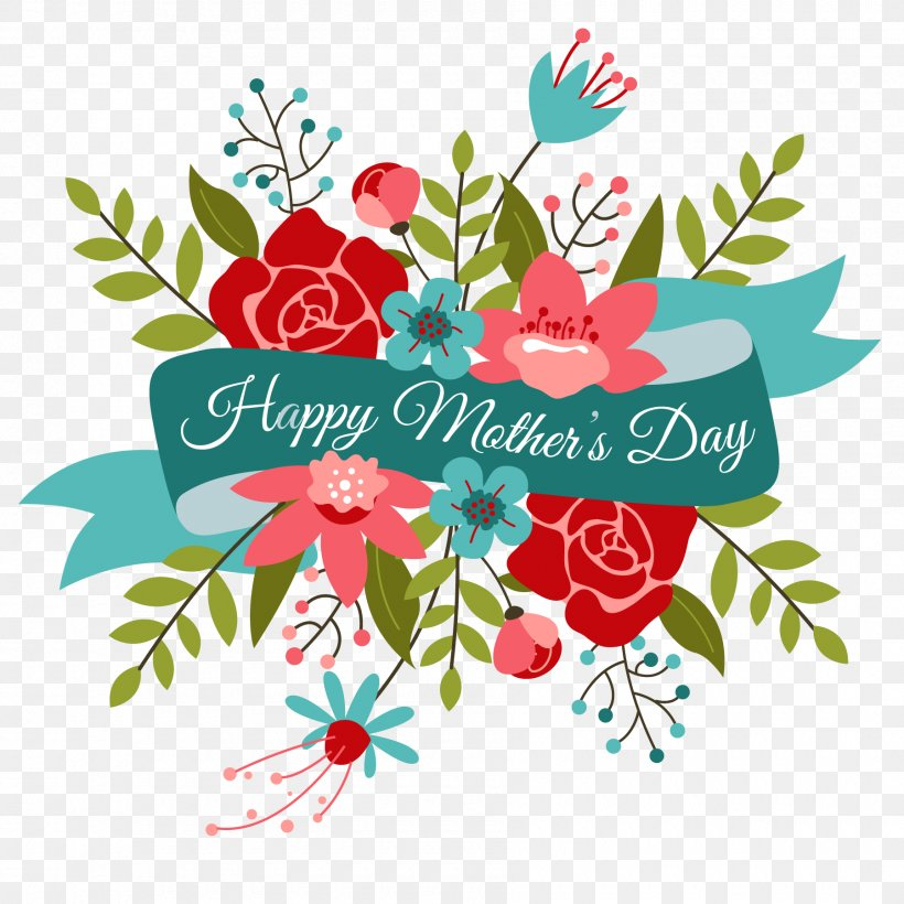 Mothers Day Flower Bouquet Valentines Day Clip Art, PNG.