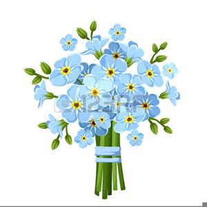 Forget Me Not Flowers Free Clipart.