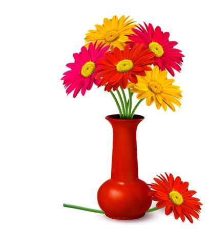 Clipart flowers in a vase » Clipart Station.