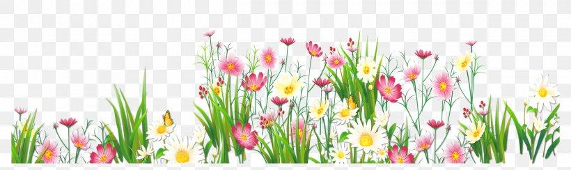 Flower Grasses Clip Art, PNG, 2419x721px, Flower, Artificial.