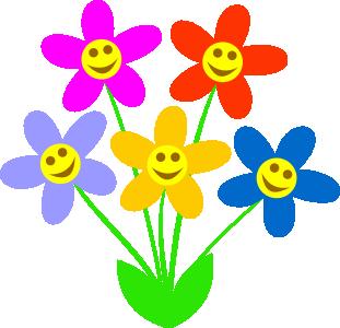 Spring Flowers Clip Art & Spring Flowers Clip Art Clip Art Images.