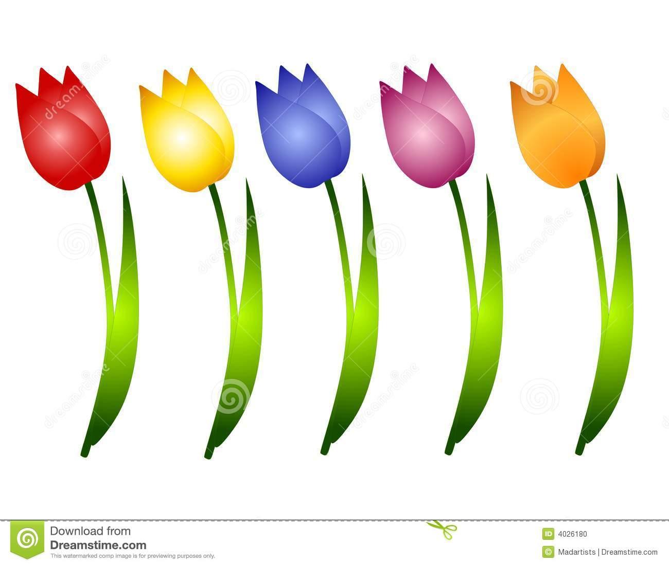 Clip Art Flowers Graphics Clipart.