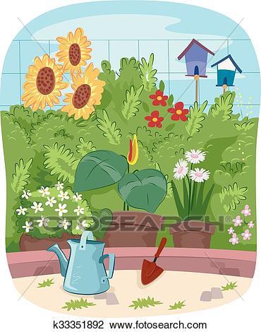 Flowers Garden Clipart.