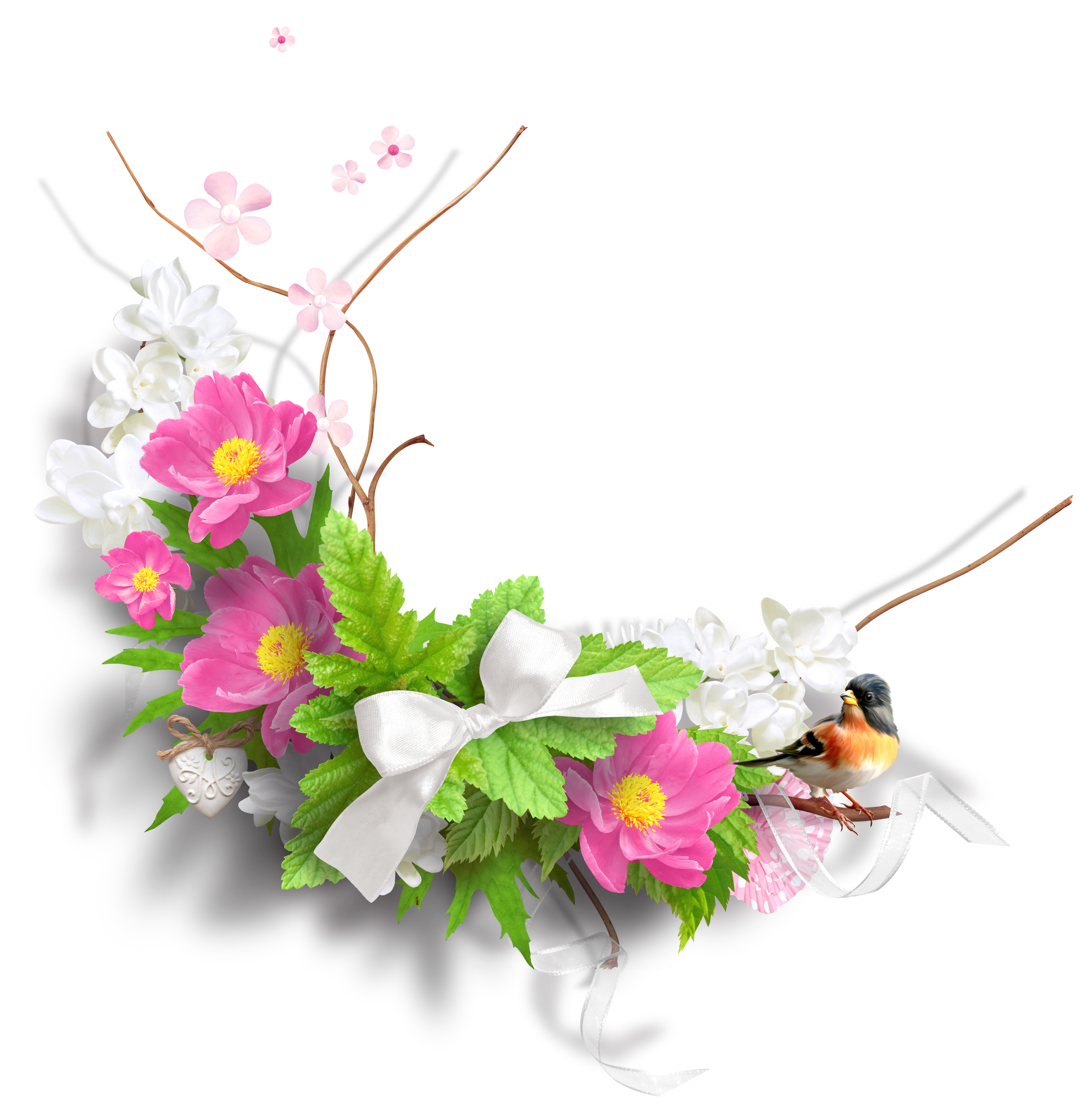 Spring Flowers Png PNG Images #68946.