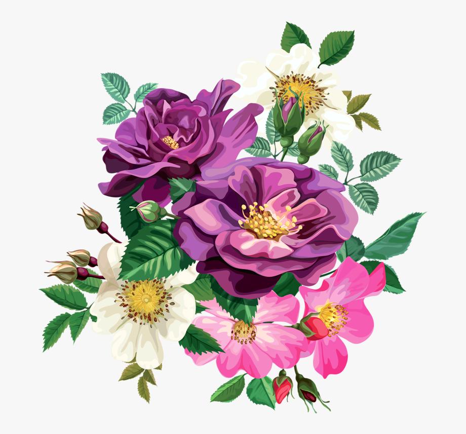 Rose Bouquet Cli̇part Transparent.