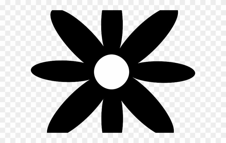Flower Clipart Silhouette.