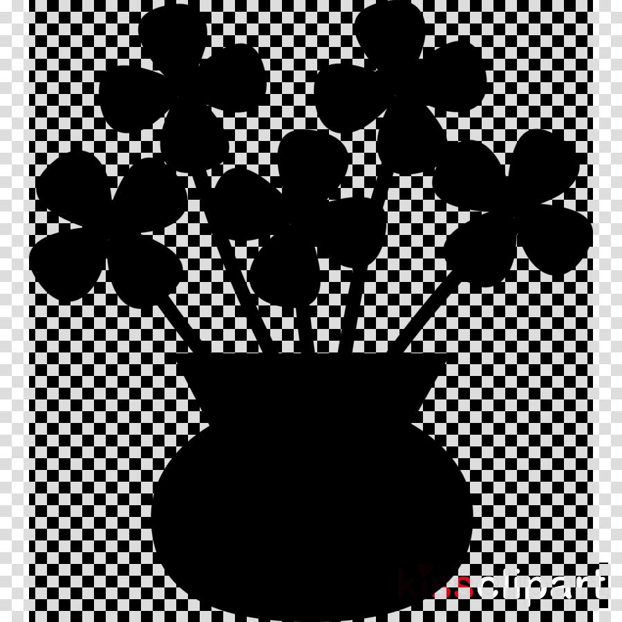 Flowers In Vase clipart.
