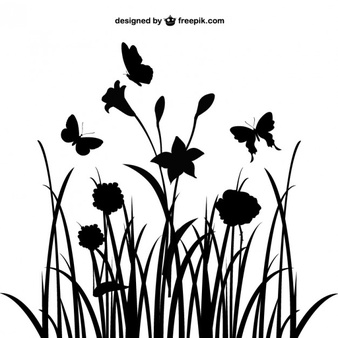 Flower Silhouette Vector Vectors, Photos and PSD files.