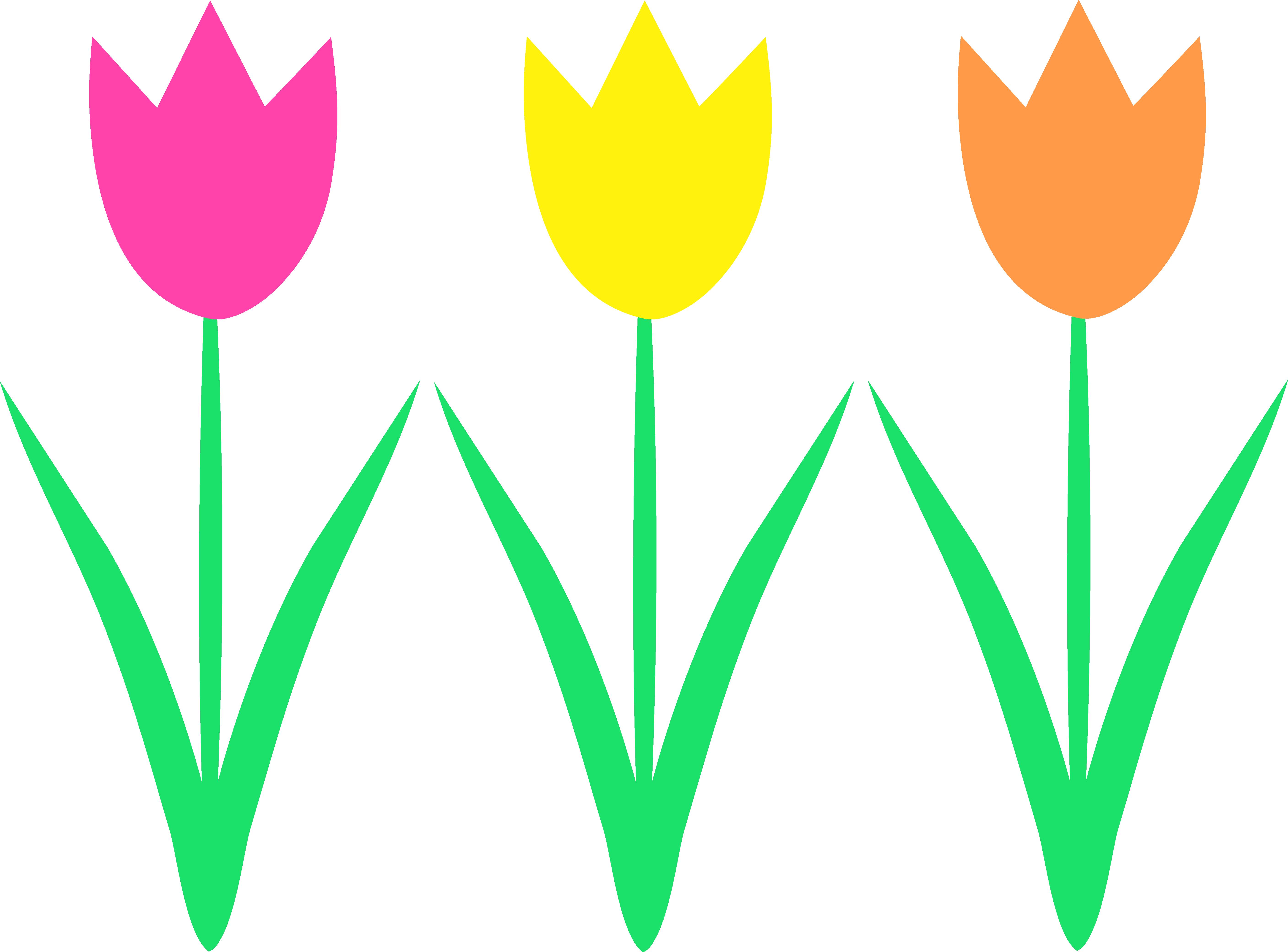 Spring theme clip art.