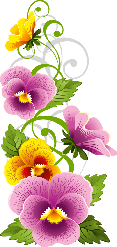 floral theme ….