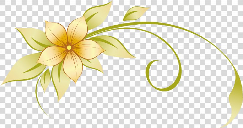 Flower Ornament Clip Art, Flower Vector PNG, Free Download.