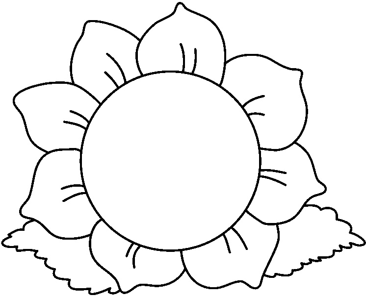Black And White Flower Clipart & Black And White Flower Clip Art.