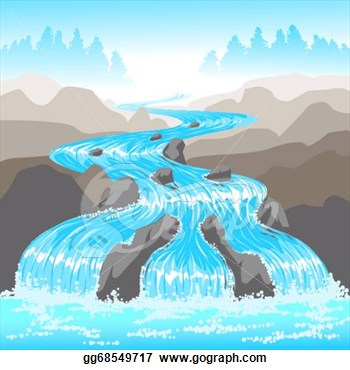 Clipart river flowing.