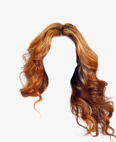Free Flowing Hair Wig To Pull The Material, Elegant, Long Hair, Wig.